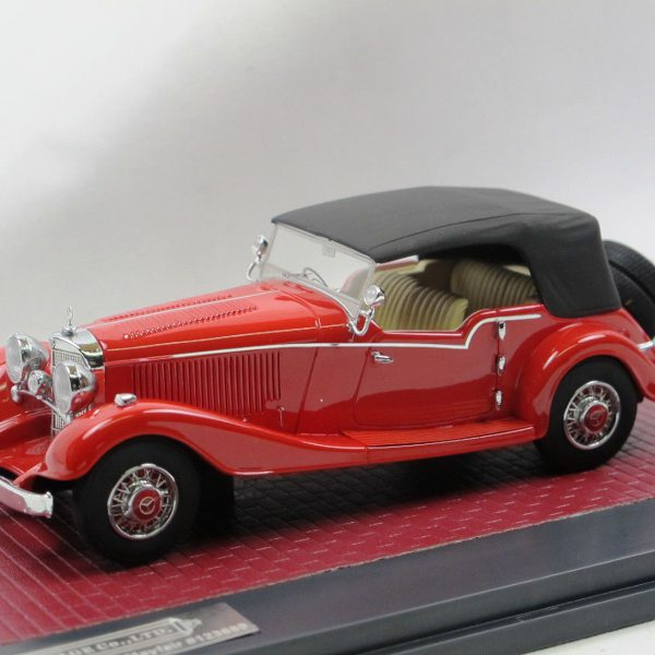 Mercedes-Benz 500K 4 Pasenger Tourer 1934 by Mayfair Closed Version Rood 1/43 Matrix Scale Models Limited Edition 199