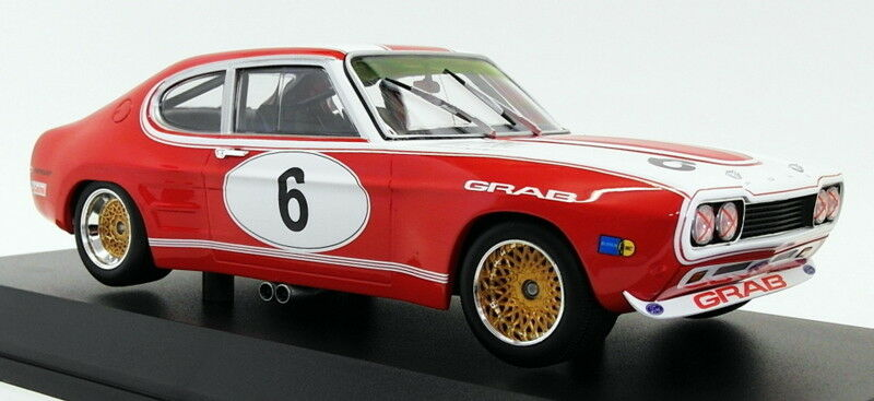 Ford Capri RS 2600 Nr# 6 Ford Tuning Siegen 6 Hours Nurburgring Weiss / Ludwig 1-18 Minichamps Limited 324 Pieces
