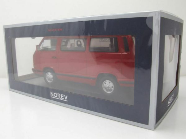 Volkswagen T3 Bus Red Star 1992 Rood 1-18 Norev Limited 800 Pieces
