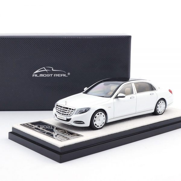 Mercedes-Benz Maybach S-Class 2016 Diamond Wit 1-43 Almost Real