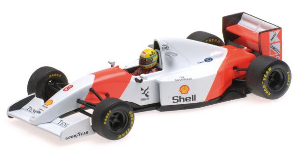 McLaren Ford MP4/8 1993 A.Senna 1-43 Minichamps