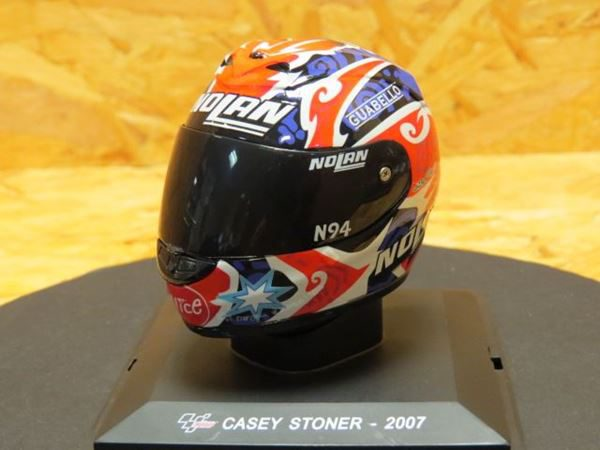 Helm Moto GP 2007 Casey Stoner 1-5 Altaya