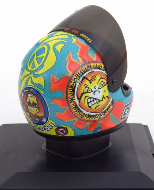 Helm Valentino Rossi 1999 World Champion 1-5 Altaya