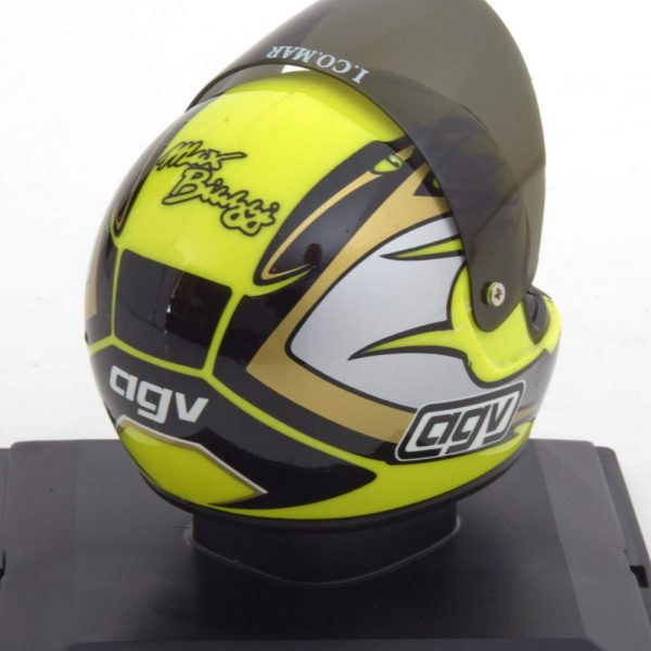 Helm Aprilia 250er 1995 World Champion Max Biaggi 1-5 Altaya