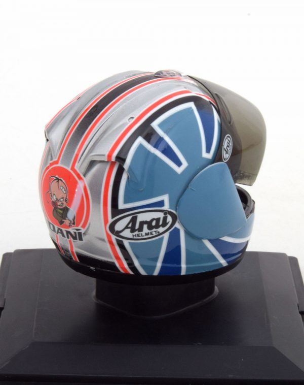Helm Honda 250er World Champion 2005 Dani Pedrosa 1-5 Altaya