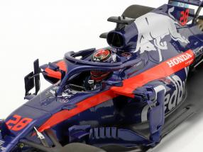 Red Bull Scuderia Toro Rosso Honda STR13 2018 #28 Brendon Hartley 1-18 Minichamps