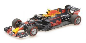 Aston Martin Red Bull Racing Tag Heuer RB14 Max Verstappen Winner Austrian GP 2018 Minichamps 1-43 Limited 750 Pieces