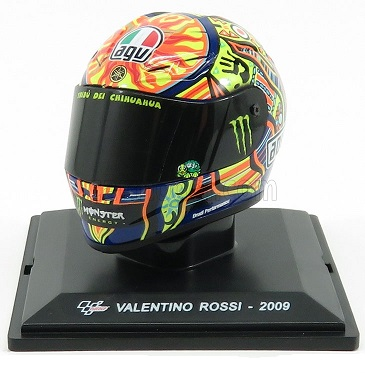 Helm Valentino Rossi 2009 World Champion 1-5 Altaya