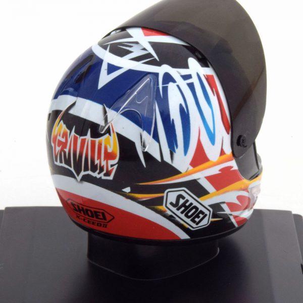 Helm Honda 500er Worldchampion 1999 Alex Criville 1-5 Altaya