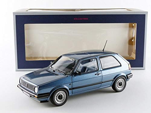 Volkswagen Golf II CL 1988 Blauw Metallic 1-18 Norev Limited 1000 Pieces