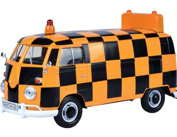"""Volkswagen T1 Bus """"Airport Runway """"1-24 Motormax"""