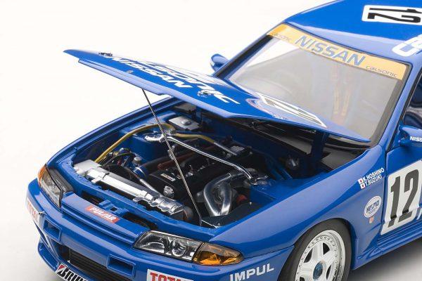Nissan Skyline GT-R R32 #12 Group A 1990 Calsonic 1:18 Autoart Millenium