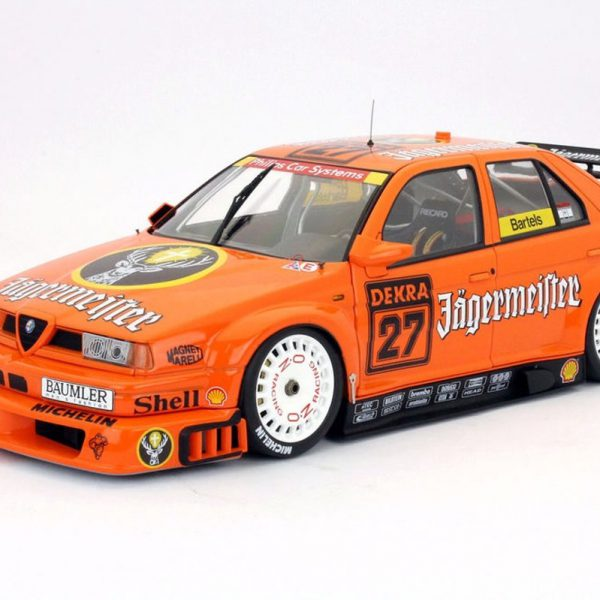 Alfa Romeo 155 V6 TI #27 Jägermeister DTM 1994 Oranje 1-18 HPI Racing