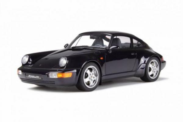 """Porsche 911 ( 964 ) """"Jubilee"""" Dark Violet Metallic 1-18 GT Spirit Limited 1500 Pieces"""