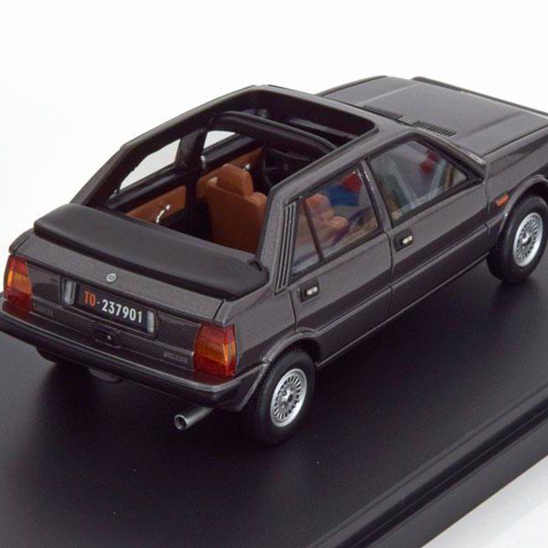 Lancia Delta Selene Semi Convertible 1983 Dark Grey 1:43 Premium X