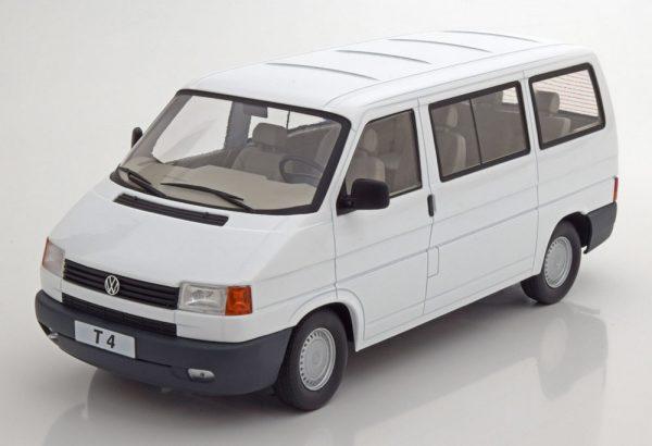 Volkswagen Bus T4 Caravelle 1992 Wit 1-18 KK Scale Limited 750 Pieces