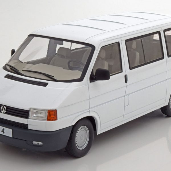 Volkswagen Bus T4 Caravelle 1992 Wit 1-18 KK Scale Limited 750 Pieces