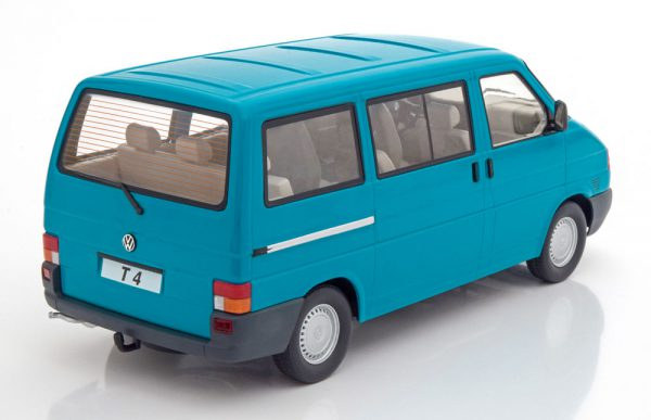 Volkswagen Bus T4 Caravelle 1992 Turquiose 1-18 KK Scale Limited 750 Pieces