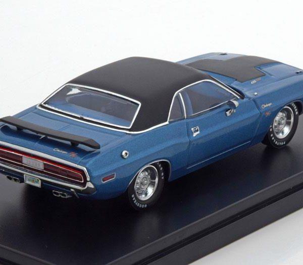 Dodge Challenger R/T 1970 Blauw 1:43 PremiumX