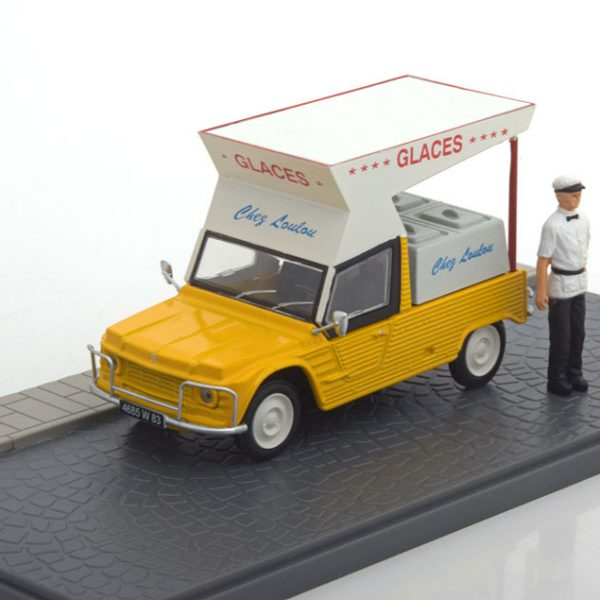 "Citroen Mehari ""Marchand de Glaces""1-43 Atlas Collection"