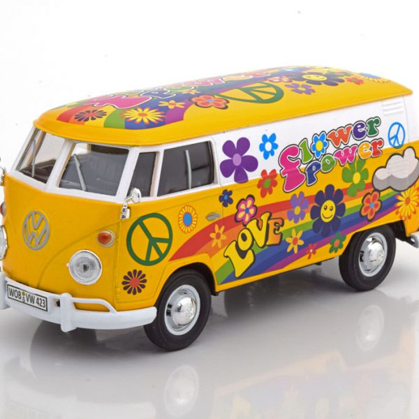"""Volkswagen T1 Bus Kastenwagen """"Flower Power""""1-24 Motormax"""