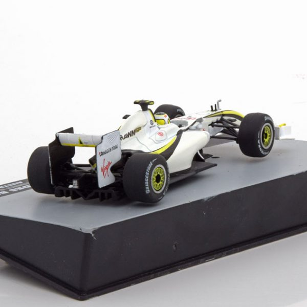 Brawn Mercedes BGP 001 GP Australian 2009 Rubens Barrichello 1-43 Atlas F1 Brazilian Collection