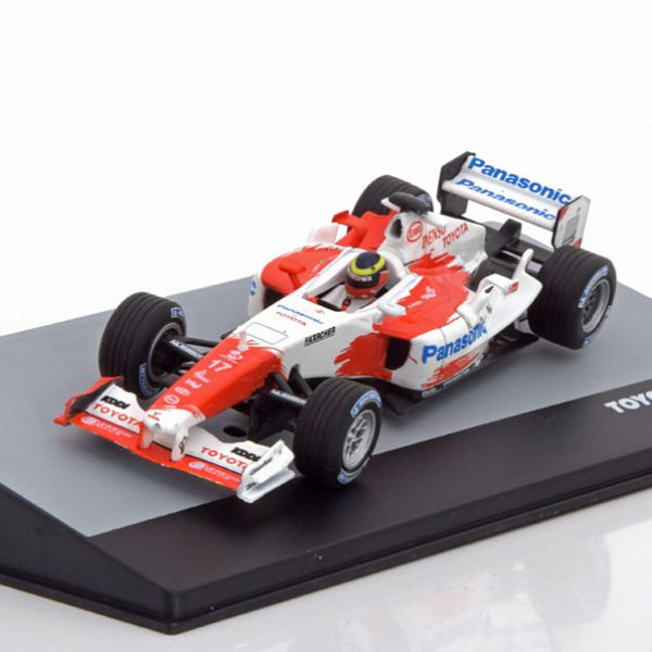 Toyota TF104B GP Brazilian 2004 Ricardo Zonta 1-43 Atlas F1 Brazilian Collection