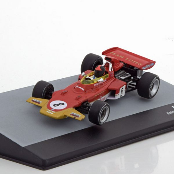 Lotus 72D GP Germany 1971 Emerson Fittipaldi 1-43 Atlas F1 Brazilian Collection