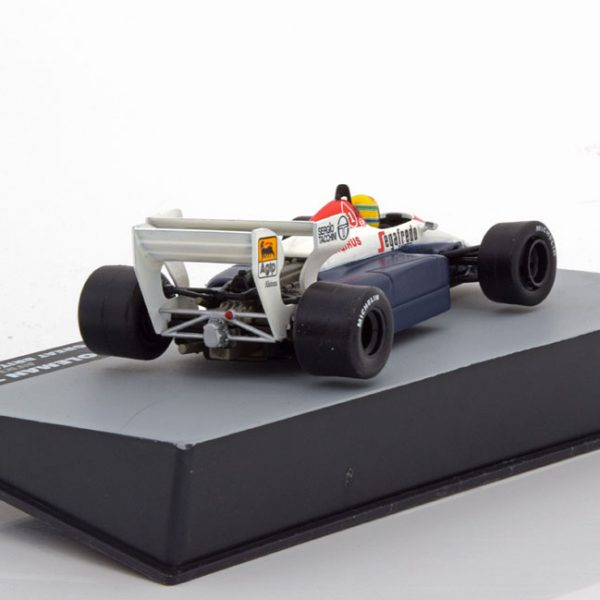 Toleman TG 184 GP England 1984 Aryton Senna 1-43 Atlas F1 Brazilian Collection