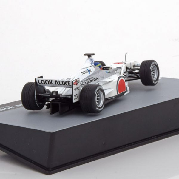 BAR Honda 002 Italy GP 2000 Ricardo Zonta 1-43 Atlas F1 Brazilian Collection