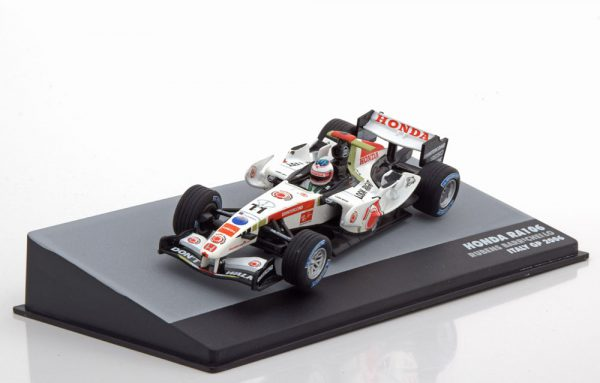 Honda RA106 GP Italy 2006 Rubens Barrichello 1-43 Atlas F1 Brazilian Collection