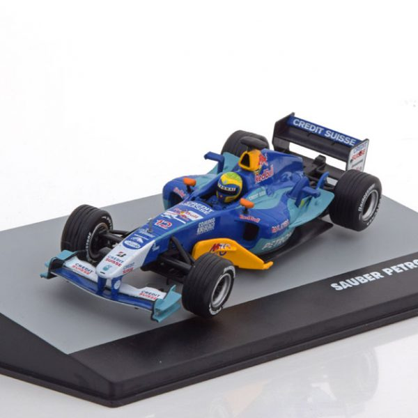 Sauber Petronas C23 GP Italy 2004 Felipe Massa 1-43 Atlas F1 Brazilian Collection