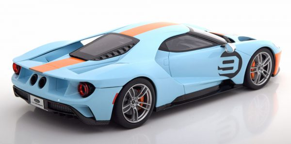 "Ford GT Heritage Edition 2019 Nr#9 ""Gulf ""1-18 GT Spirit Limited 999 Pieces"