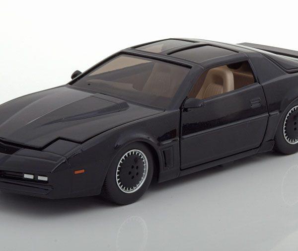 "Pontiac Firebird K.I.T.T. ""Knight Rider"" Zwart 1-24 Jada Toys"