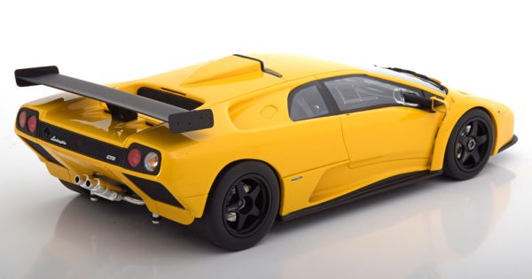 Lamborghini Diablo GTR 1999 Geel 1-18 GT Spirit ( Made by Kyosho ) Limited 500 Pieces