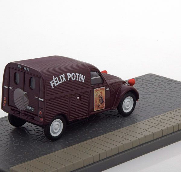 "Citroen 2 CV Fourgonette ""Felix Potin""1-43 Atlas Collections"