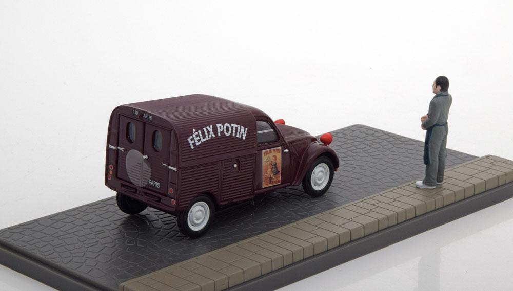 """Citroen 2 CV Fourgonette """"Felix Potin""""1-43 Atlas Collections"""