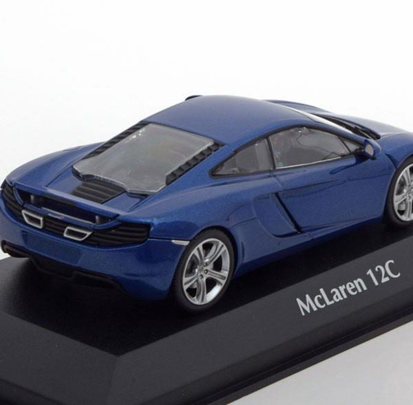 McLaren 12C 2011 Blauw Metallic 1-43 Maxichamps