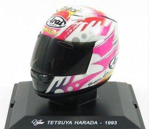 Helm Moto GP 1993 Tetsuya Harada 1-5 Altaya