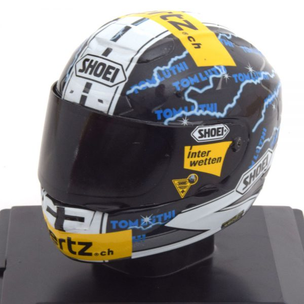 Helm Moto 2 2013 Thomas Luthi 1-5 Altaya