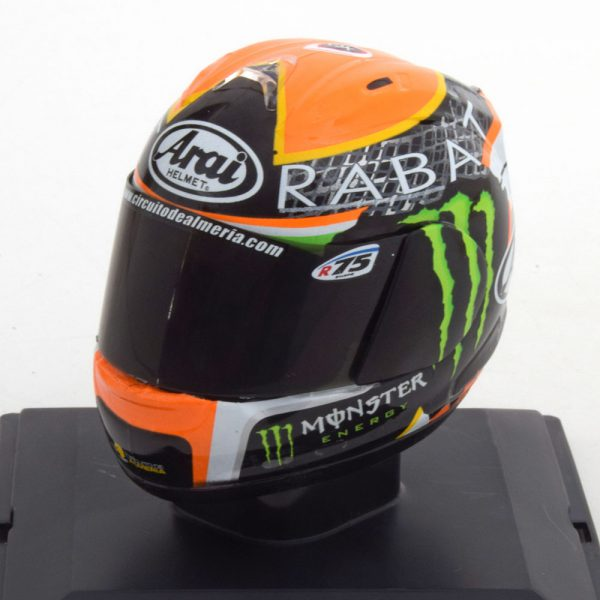 Helm Moto 2 GP 2014 World Champion Esteve Rabat 1-5 Altaya