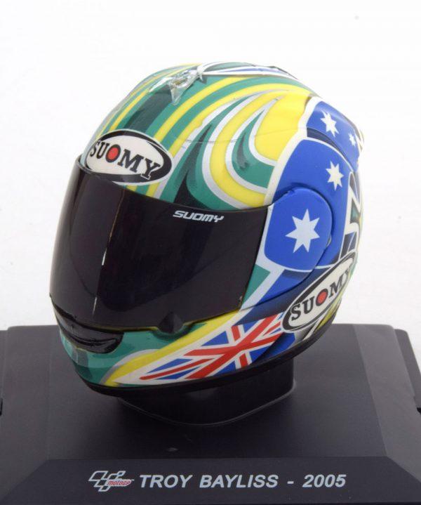 Helm Honda MotoGP 2005 Troy Bayliss 1-5 Altaya