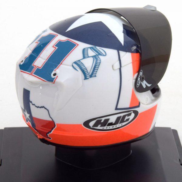 Helm Yamaha Moto GP 2010 Ben Spies 1-5 Altaya