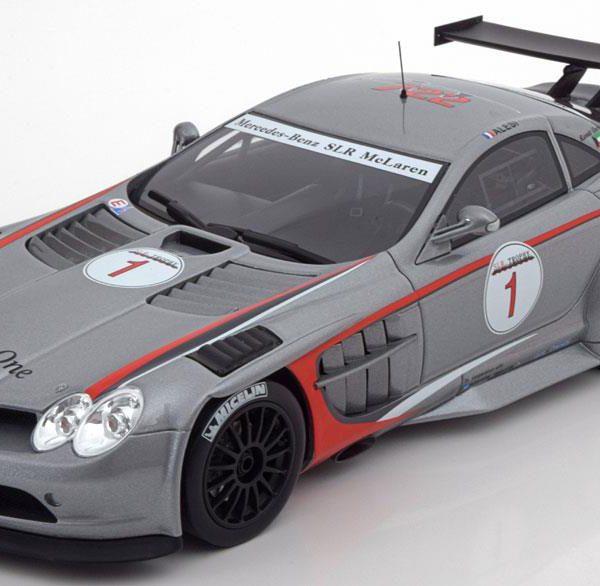 Mercedes-Benz McLaren SLR 722 GT No.1, GT Trophy 2007 J.Alesi 1-18 GT Spirit Limited 504 Pieces