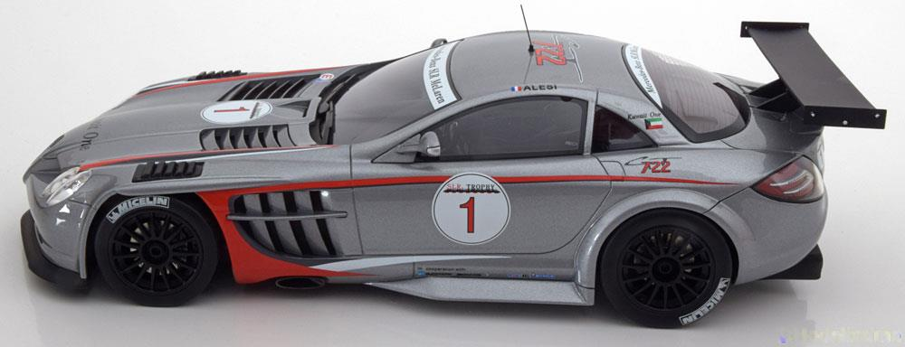 Mercedes-Benz McLaren SLR 722 GT No.1, GT Trophy 2007 J.Alesi 1-18 GT Spirit Limited 504 Pieces