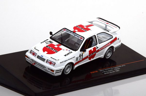 "Ford Sierra RS Cosworth No.11, WTCC Brno 1987 ""Würth"" Winkelhock/Biela 1-43 Ixo Models"