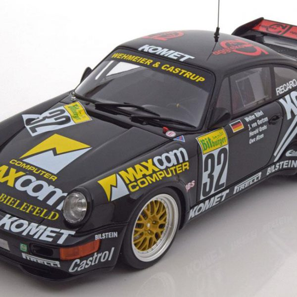 Porsche 911 RSR ( 964 ) #32 24Hrs Nurburgring 1993 Rohrl / Alzen 1/18 GT Spirit Limited 504 Pieces