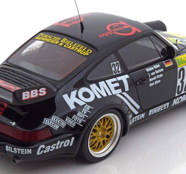 Porsche 911 RSR ( 964 ) #32 24Hrs Nurburgring 1993 Rohrl / Alzen 1/18 GT Spirit Limited 504 Pieces