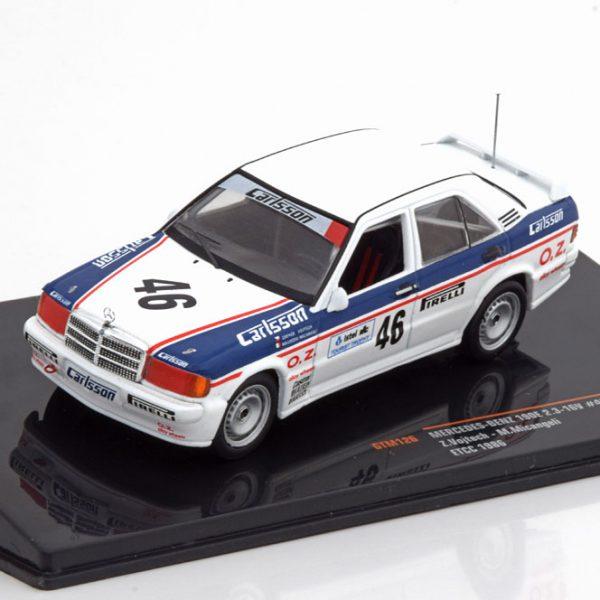Mercedes-Benz 190E 2.3 16V No.46, ETCC 1986 Vojtech/Micangeli 1-43 Ixo Models