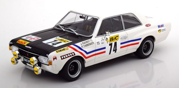 Opel Commodore A No.74, Tour de France 1971 Ragnotti/Thimonier 1-18 Minichamps Limited 400 Pieces